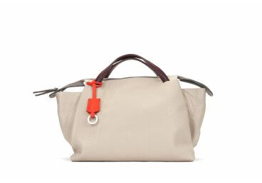 Шкіряна сумка-шоппер