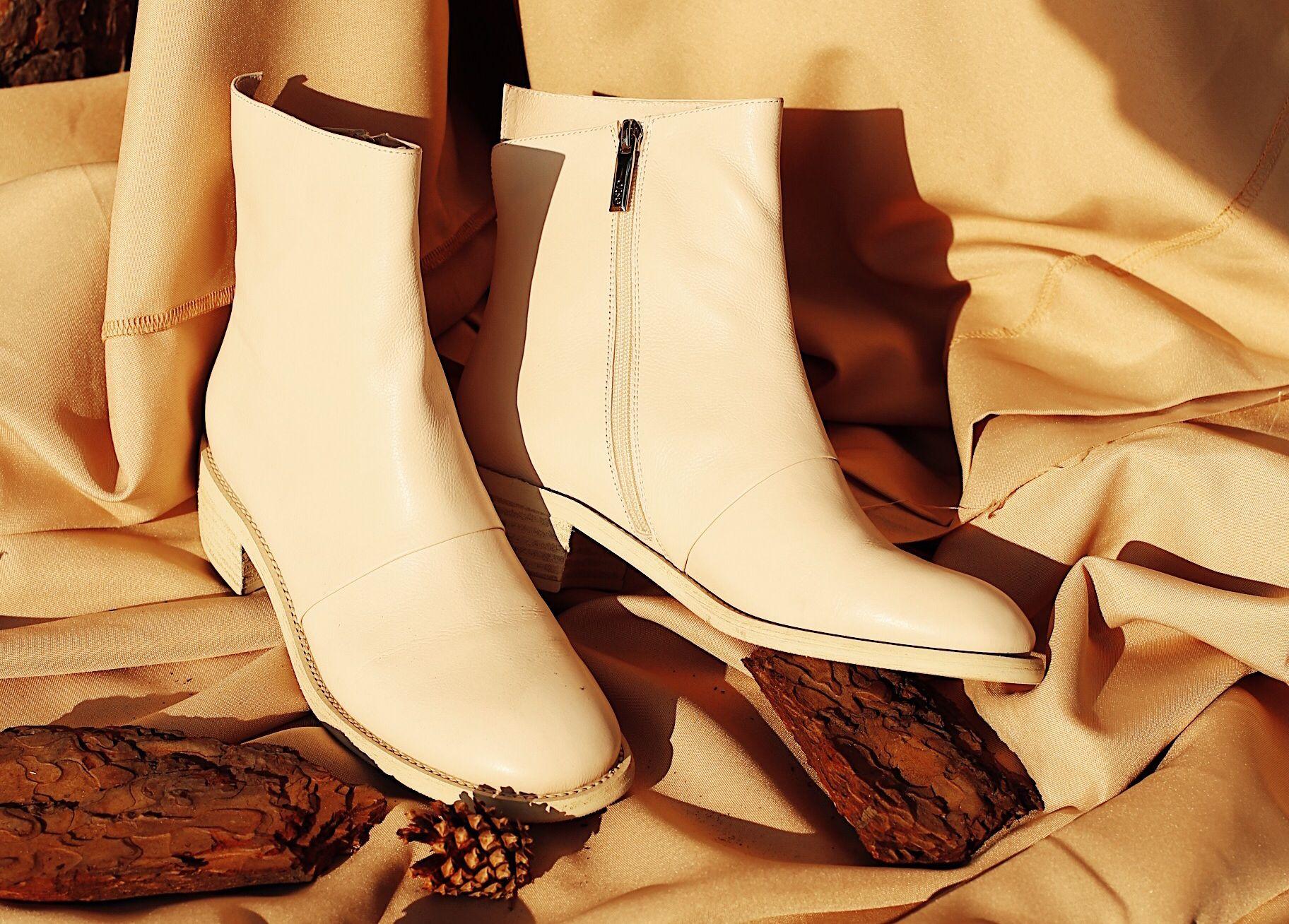 Уход за белой обувью из кожы