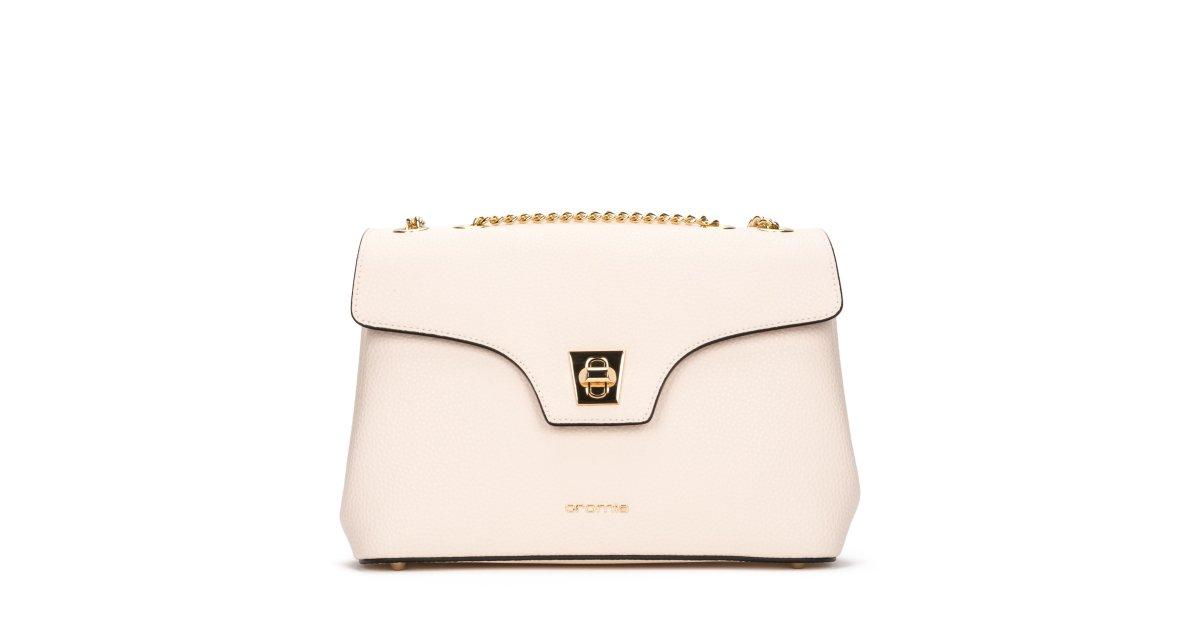 31884df9bcf0 Купить сумку из из гладкой телячьей кожи Mina Cromia Украина - Estro