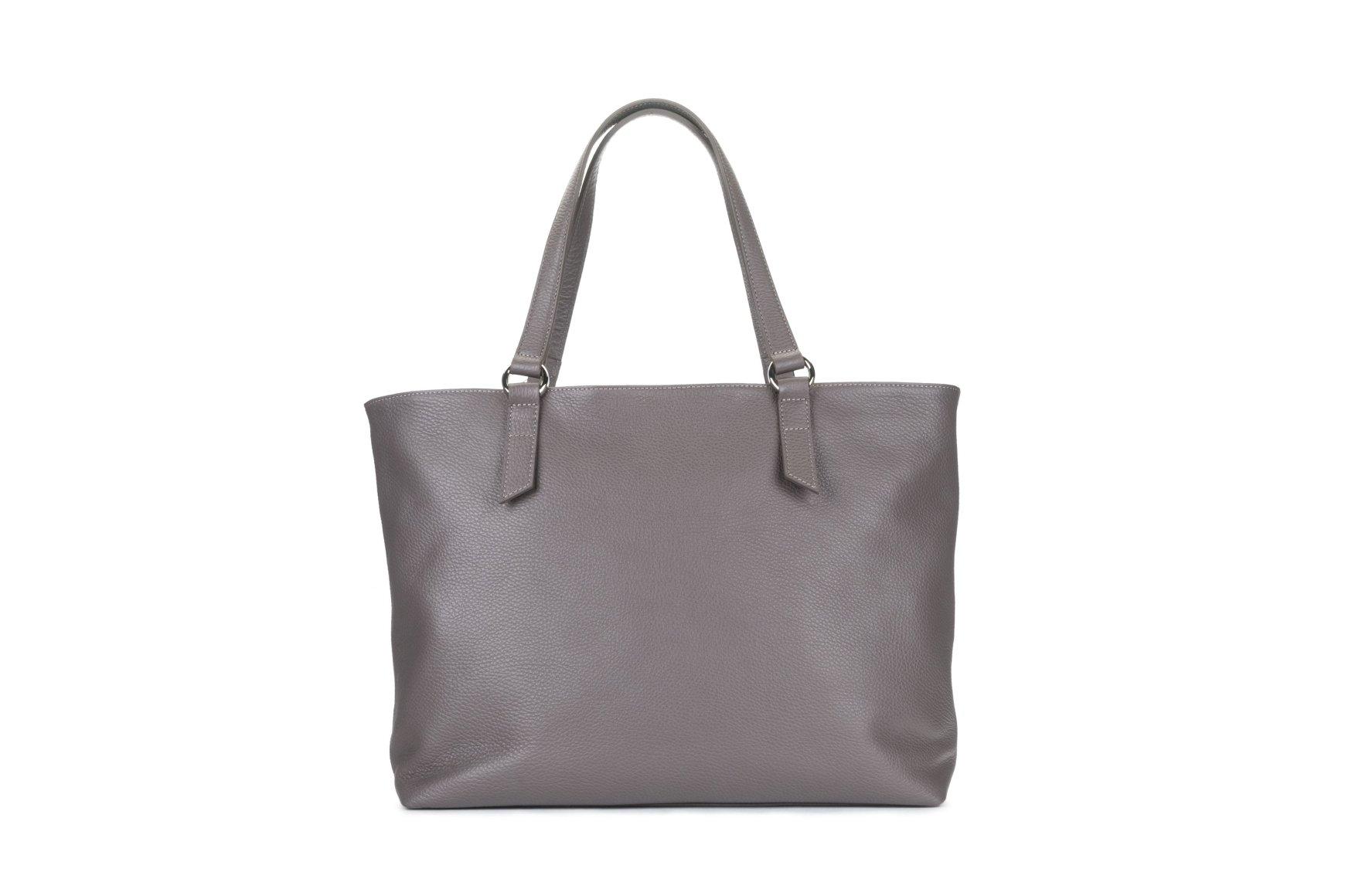 d7d017a68d4d Кожаная сумка-шоппер - Estro