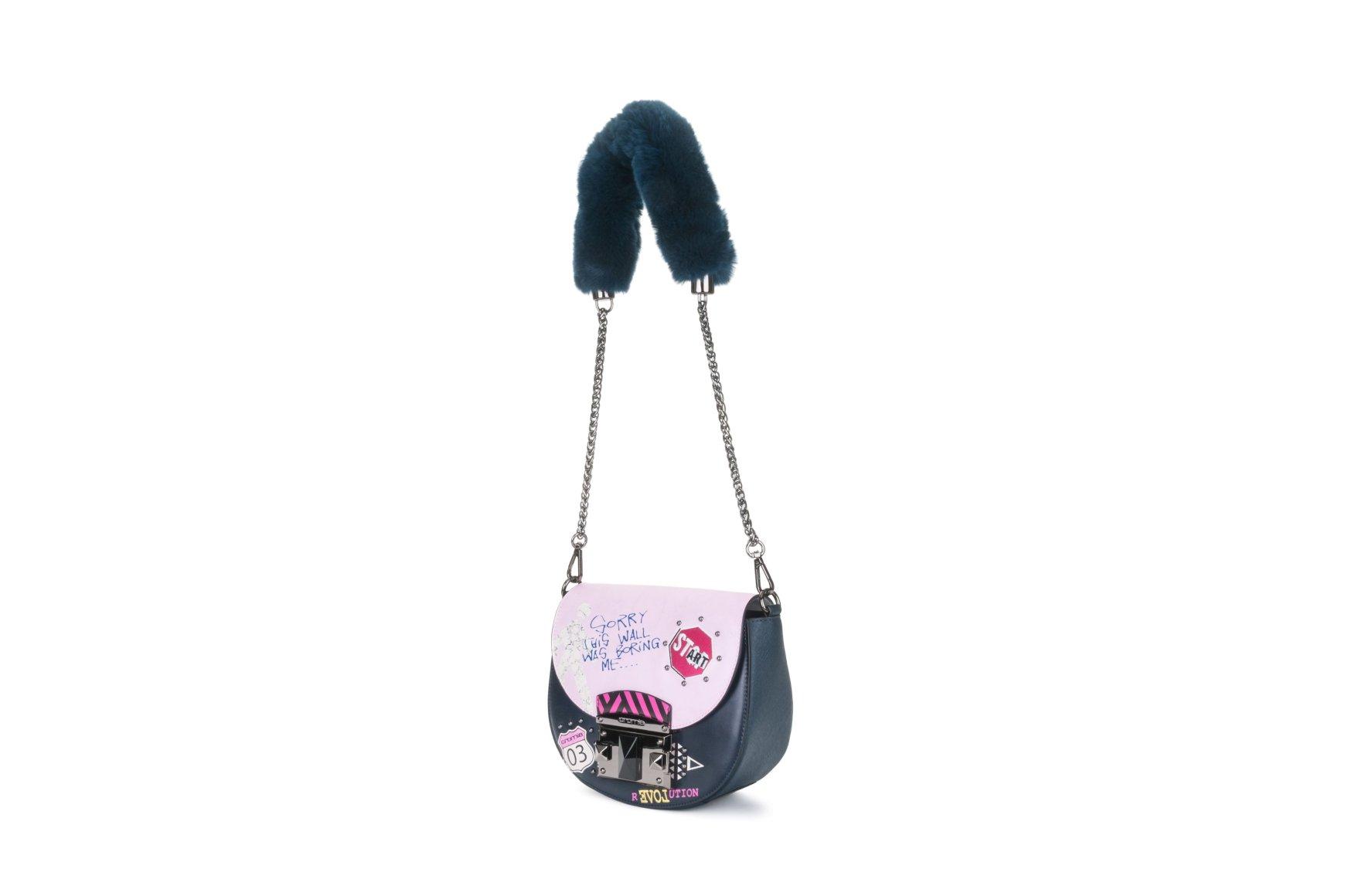1c15b8ba8ecf Купить сумку из из гладкой телячьей кожи it trendy Cromia Украина - Estro