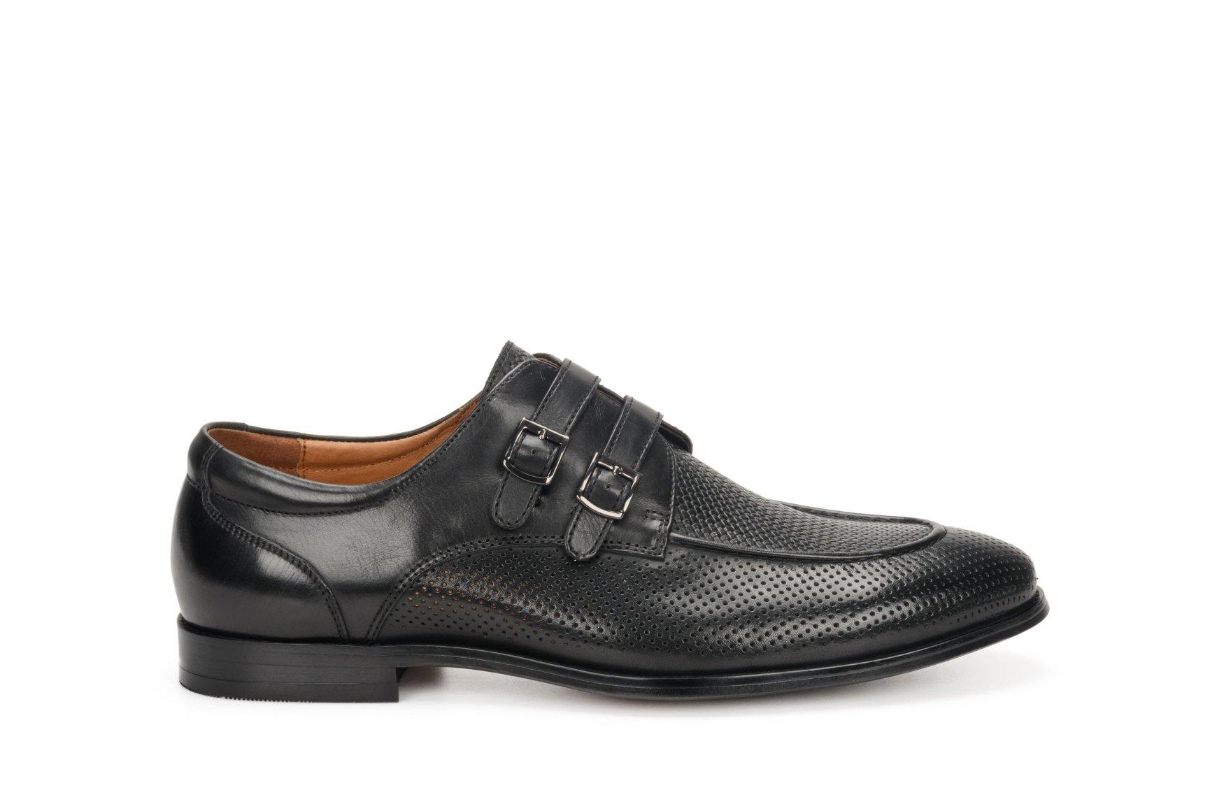 Туфли мужские Estro чёрные ER00107069 • Купить в Украине - Estro