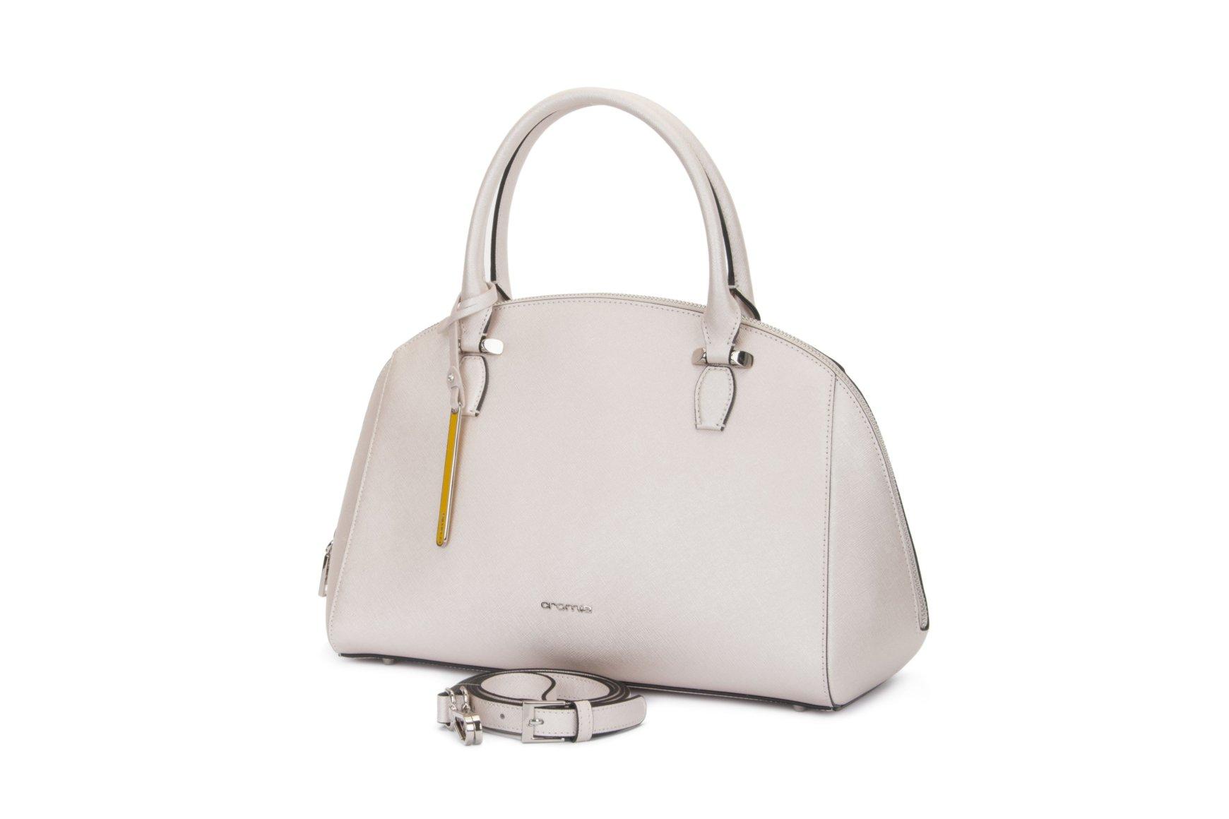 cace3dfc309b Купить сумку из из гладкой телячьей кожи Akua Cromia Украина - Estro
