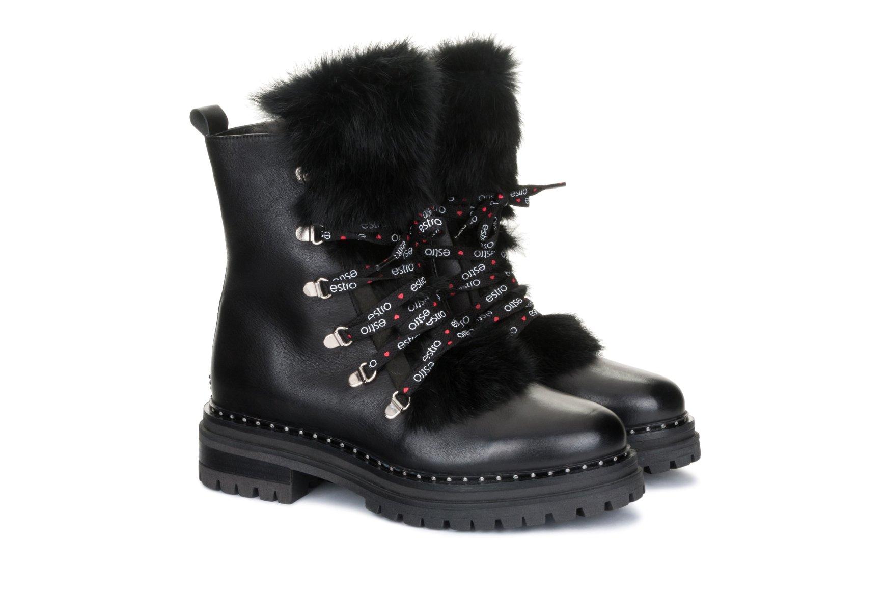 Ботинки зимние - Estro 5d07fa68588