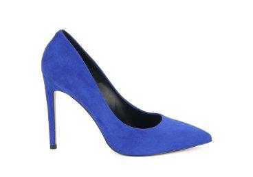 Туфли-лодочки estro синие ER00105492