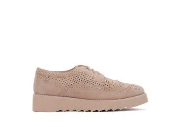 Безподкладочные туфли летние estro бежевые ER00102721