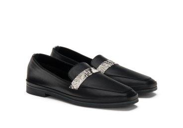 Туфли бесподкладочные черные estro er00104840