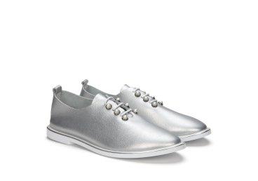 Туфли серебристые estro er00104760