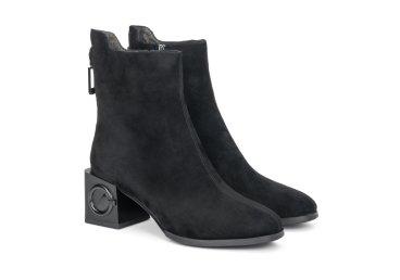 Ботинки женские демисезонные Estro чёрные ER00108037