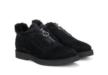 Туфли зимние Estro чёрные ER00106202