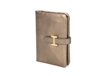 Кошелёк женский кожаный Estro бронзовый ER00106284