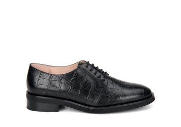 Туфли дерби женские Estro чёрные ER00107931
