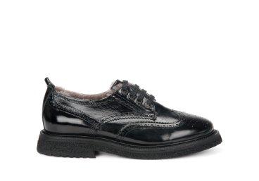 Туфли зимние Estro чёрные ER00106197