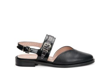 Слингбэки женские Estro чёрные ER00107157