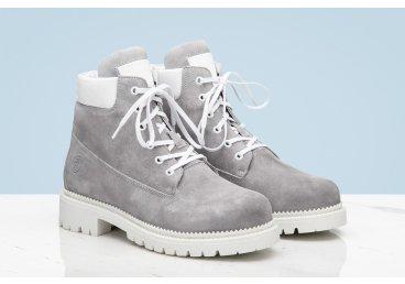 Ботинки женские Estro серые ER00107944