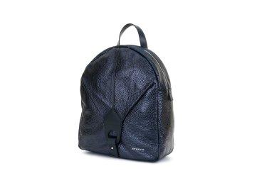 Рюкзак кожаный Cromia синий ER00102375