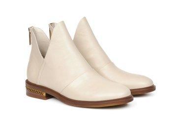 Ботинки челси estro молочные ER00105360