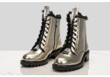 Ботинки зимние Estro золотистые er00106189