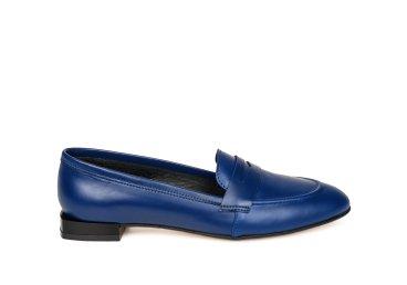 Лоферы женские estro синие ER00105588