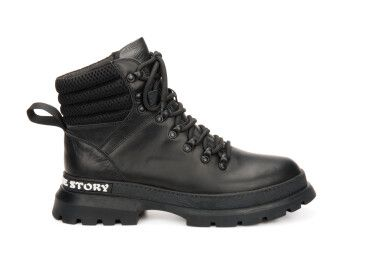 Ботинки демисезонные Estro чёрные ER00106421