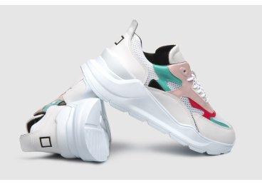 Кроссовки женские D.A.T.E белые ER00104950