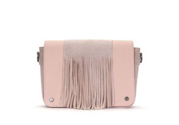 Кожаная сумка-флеп