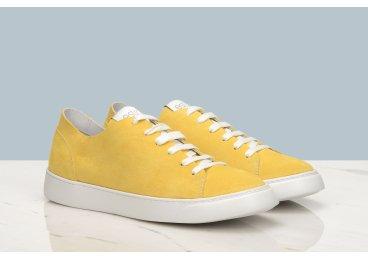 Кеды женские Estro жёлтые ER00106508