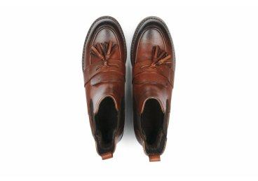 Ботинки челси estro коричневые ER00105354