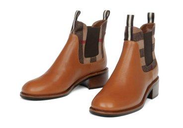 Ботинки кожаные estro коричневые ER00105416