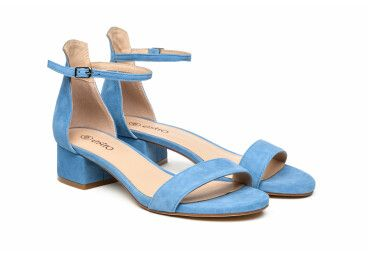 Босоножки женские Estro голубые ER00105049