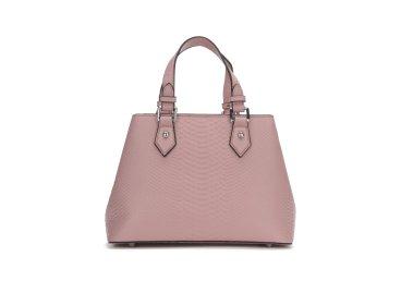 Сумка шоппер кожаная  Estro розовая er00104934