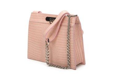 Сумка кроссбоди шкіряна Estro рожева ER00107712
