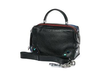 Сумка mini bag кожаная Estro черная er00105329
