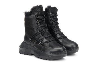 Ботинки зимние Estro чёрные er00106155