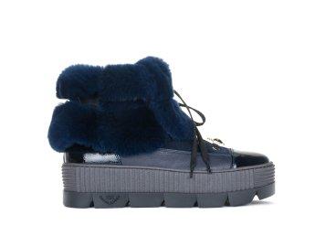 Ботинки зимние Marzetti синие ER00103673
