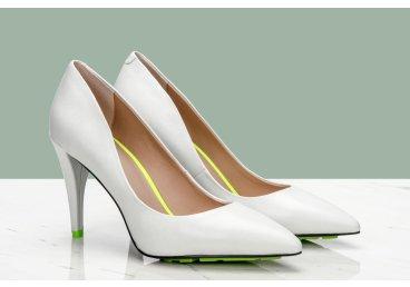 Туфли лодочки Estro белые ER00107033