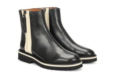 Ботинки демисезонные Angelo Bervicato чёрные ER00106293