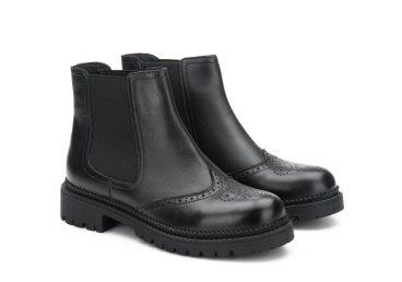 Ботинки челси estro чёрные ER00105461