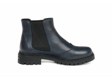 Ботинки челси estro тёмно-синие ER00105462