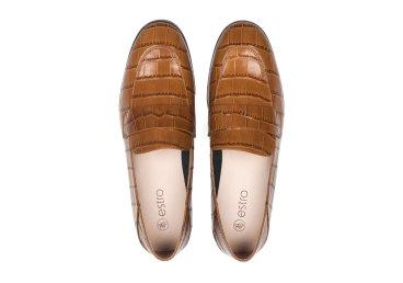 Лофери жіночі Estro коричневі ER00106761
