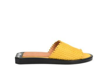 Шлепанцы женские Estro жёлтые ER00107431