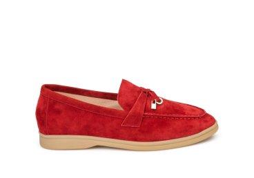 Лоферы женские Estro красные ER00107885