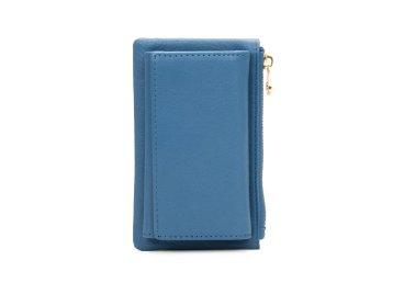 Ключница кожаная Estro голубая ER00107442