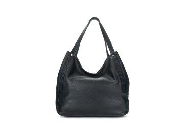 Кожаная сумка-шоппер
