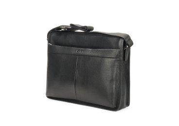Мужская кожаная сумка-планшет Estro черная ER00100891