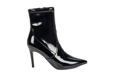 Ботинки на шпильке estro чёрные ER00105546