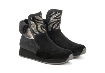 Ботинки зимние Marzetti чёрные ER00106343