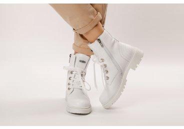 Черевики жіночі Estro білі ER00108005