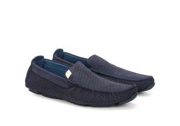 Мокасины синие Luca Guerrini ER00107822