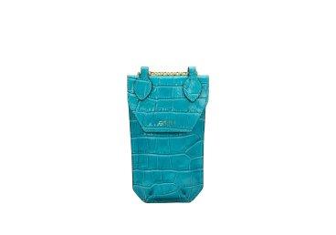 Сумка mini bag Estro голубая ER00107862
